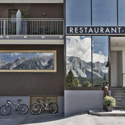 E-Mountainbikes to rent at the ARX Hotel