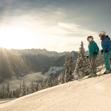 A perfect day of skiing in Schladming-Dachstein