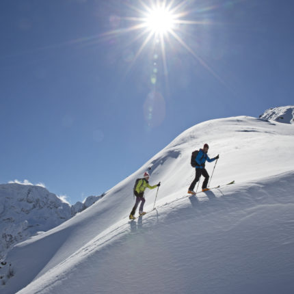 Ski touring in Schladming-Dachstein