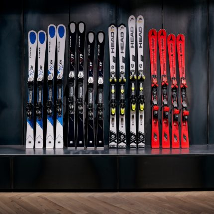 Ski rental in the hotel - with brand new models