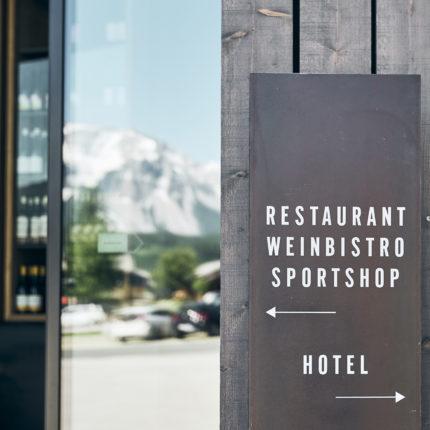 Restaurant, Weinbistro, Sportshop Rohrmoos