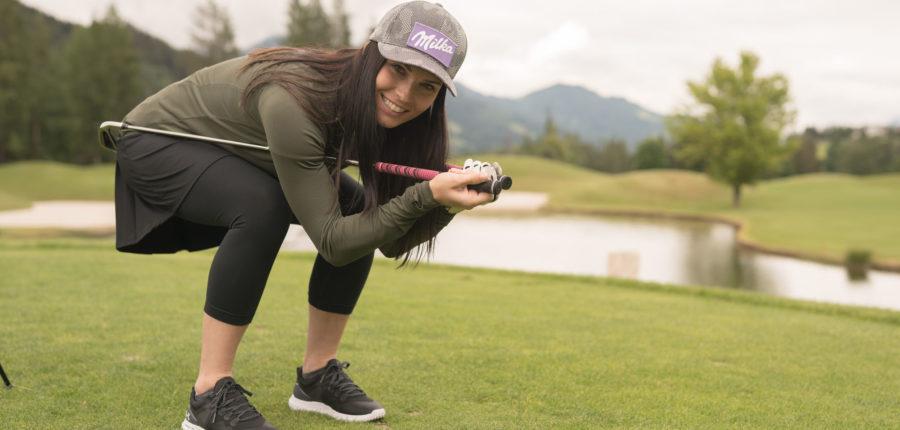 Anna Veith - Golfen